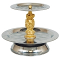 Where to rent Tray 2 Teir w  Gold Figurines in La Grande OR