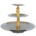 Where to rent Tray 3 Tier w  Gold Figurines in La Grande OR