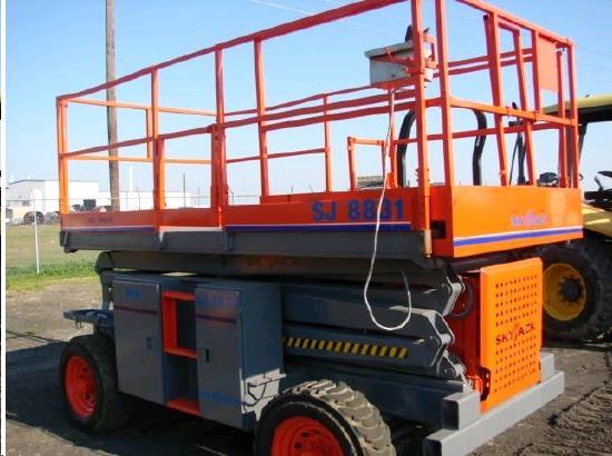 SCISSOR LIFT SKYJACK 8831RT 4WD Rentals La Grande OR, Where